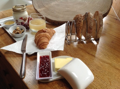 Ivy House Continental Breakfast