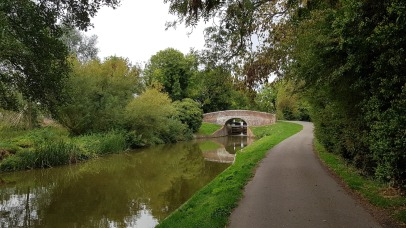 North Wessex AONB Canal Path and Bridge