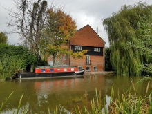 North Wessex AONB Hungerford Canal Boat