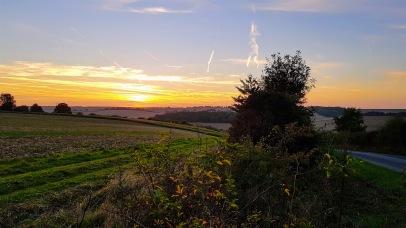 North Wessex AONB Sunset